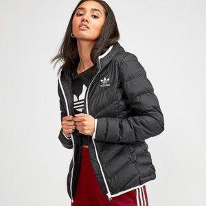 ADIDAS Slim Puffer Jacket Quilted Black
